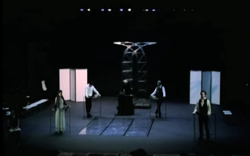 Representación del Théâtre de la Croix Rousse, Lyon, Francia, de Coupat (2007)