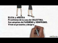 YouTube video summary of animated La Celestina, by Gloria Gil (2012)