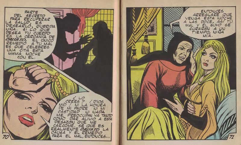 Comic ofLa Celestina, by Basstien (1988)