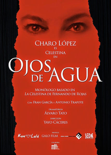 Representación de Ojos de agua, Madrid, 2015.