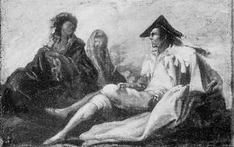 Majos y majas, de Goya (Fecha desconocida)