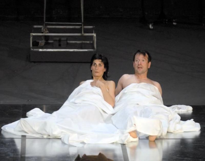 Representación del Théâtre de la Croix Rousse, Lyon, Francia, de Coupat (2007)<br />