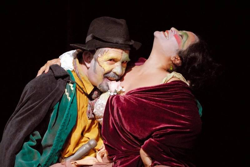 Representación del Hispanic Theatre Festival, Miami, 2008