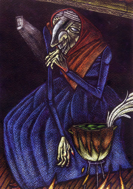 Illustration of La Celestina, by Hijo (2003)