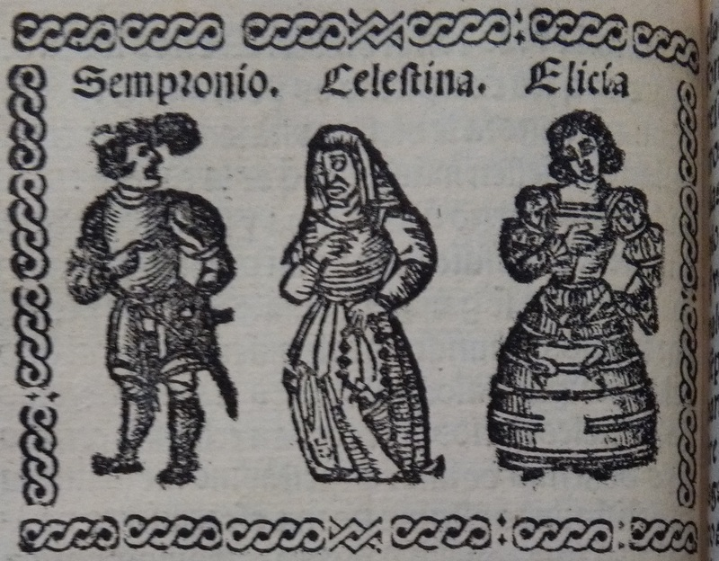 Illustration of act 3 of Medina del Campo, 1530<br />