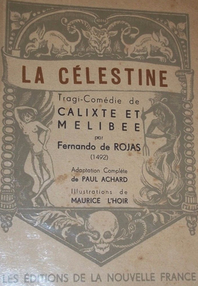 Cover of the Éditions de la Nouvelle France edition, 1943