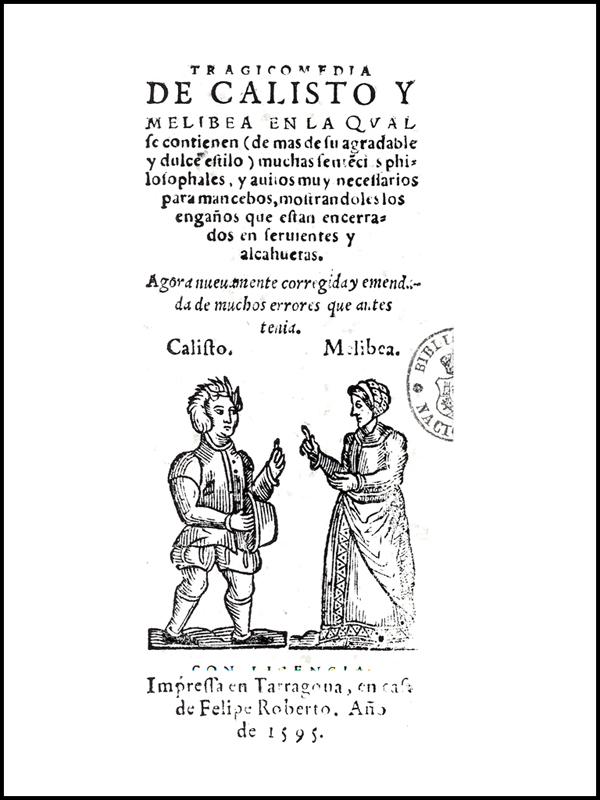 Cover of the Tarragona edition, 1595.
