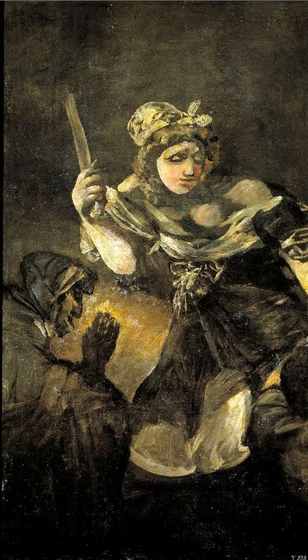 Judith and Holofernes by Goya, (1819 c.)
