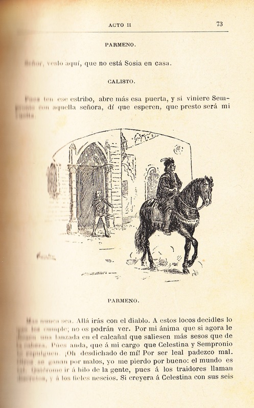 Illustration of act II from the Barcelona edition (1883)