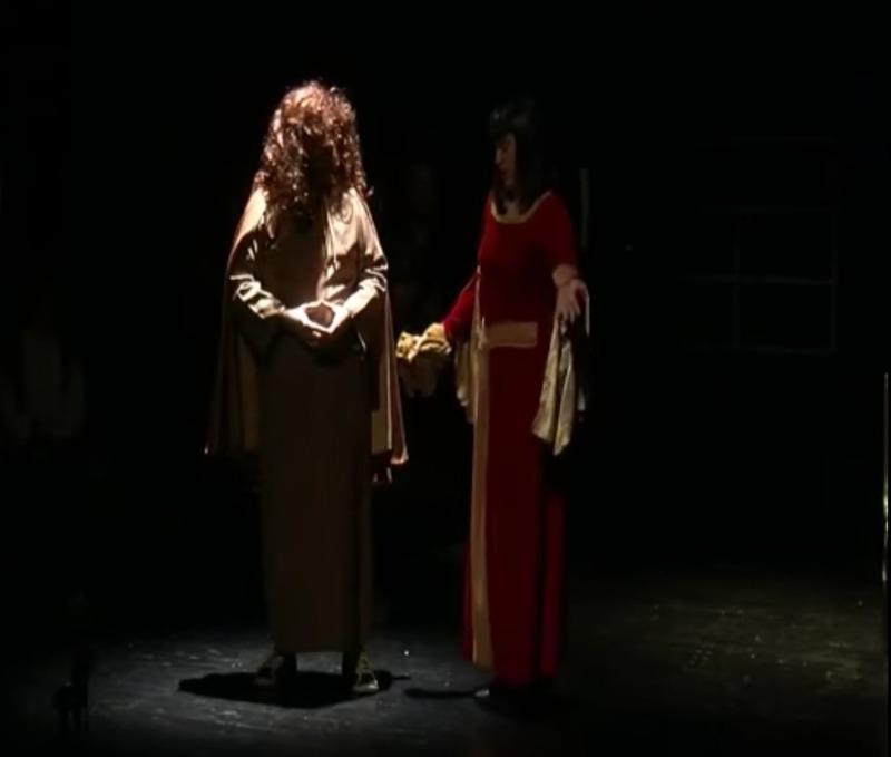 Representación del Teatro Olimpia, Villa del Río, Córdoba, de EMAEJ (2013)
