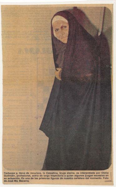 Representación del Teatro de la nación del IMSS, 1982.