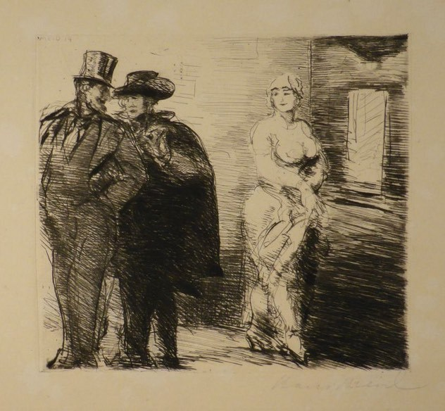 Procuring (Proxenetismo), by Meid (1914)