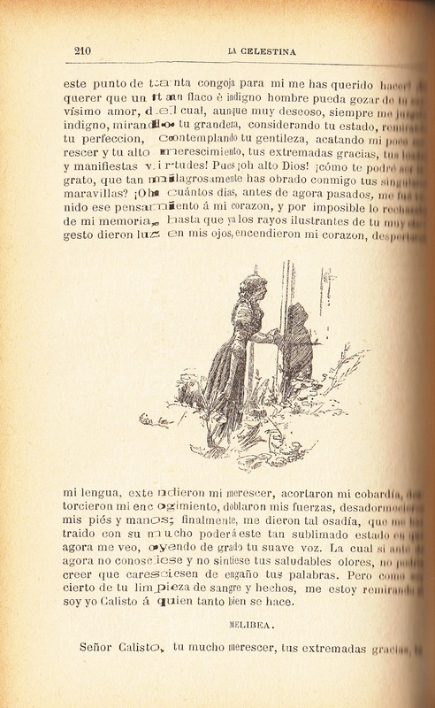 Second illustration of act XII from the Barcelona edition (1883)