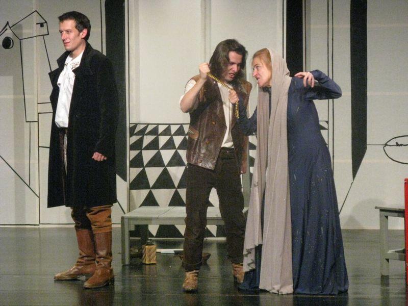 Representación del Teatre del Repartidor, Barcelona, 2011<br />