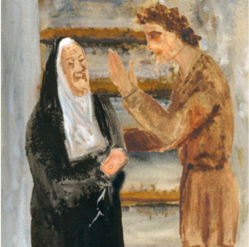 Celestina and Pármeno, by Acedo (2008 c.)