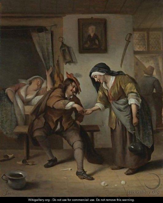 La alcahueta, de Steen (siglo XVII)