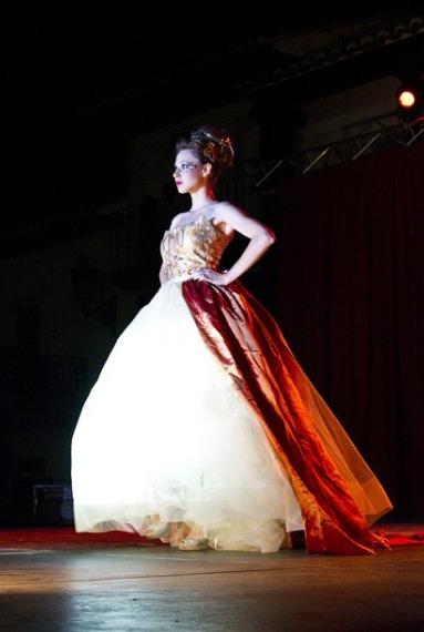 Vestidos inspirados en La Celestina, de la Rosa (2014)<br />