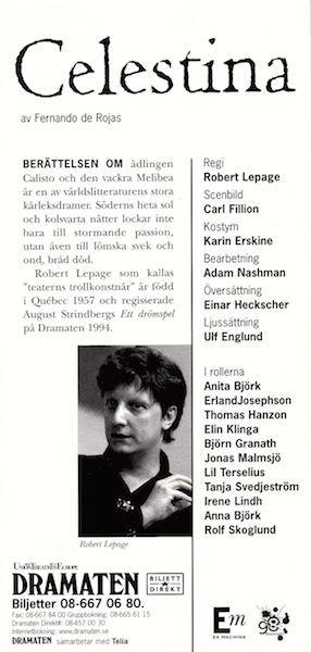Representación de Estocolmo, 1998.