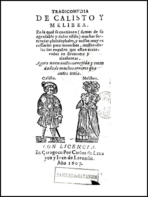 Portada de Zaragoza, 1607.