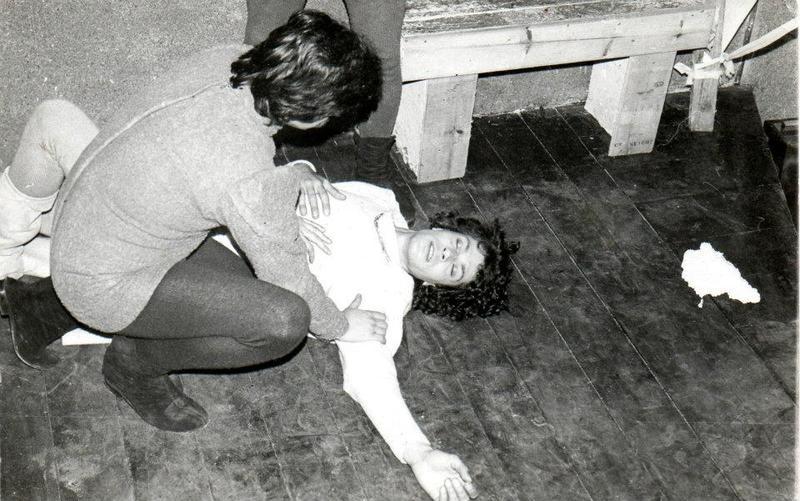 Representation in the Máscara Theater, Montevideo, 1981