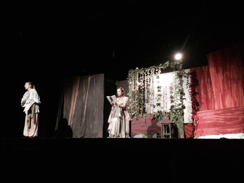 Representación del Espacio Nebrija Escénico, Murcia, del Teatro del Repartidor (2016-2017)