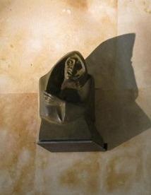 Copy of the statue  at the Theater Juan del Enzina , University of Salamanca