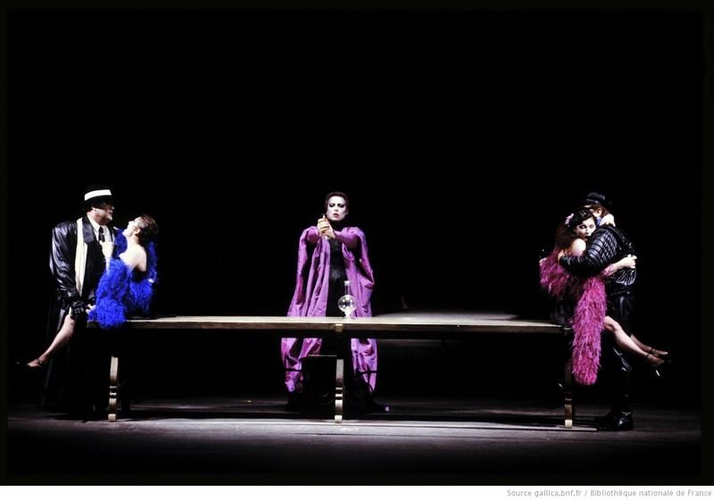 Representación del Opéra National de Paris-Palais Garnier, 1988<br />