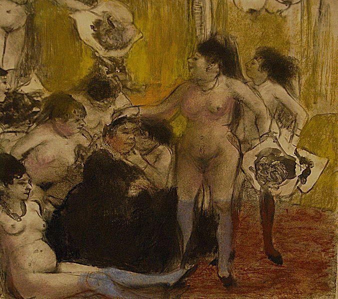 La fiesta de la patrona, de Degas (1878)