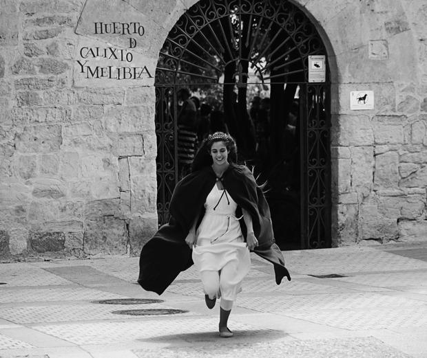Representation of the Salamanca Plazas and Patios Touristic-Cultural program (2017)