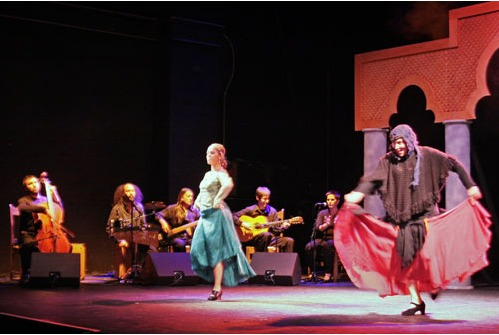 Representación del Espace Julien, Marseille, de la Rueca Teatro (2009)
