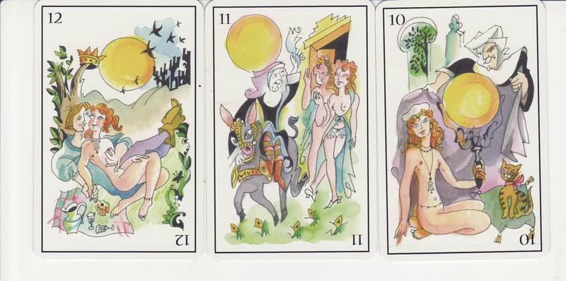 Deck of cards Eroticism in Classic Spanish Literature (El Erotismo en la Literatura Clásica Española), by Munoa (2005)