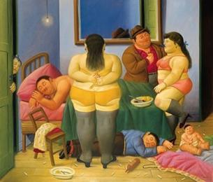 House of Marta Pintuco, by Botero (2001)