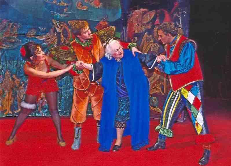 Representación del Teatro Victor Ion Popa, Balard, Rumania, de Mihailescu (2005)