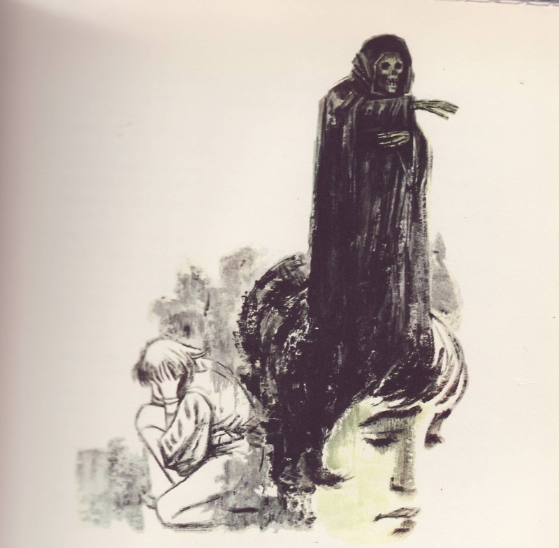 Second illustration from act XIII from the Barcelona edition (1968)
