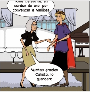 Comic La Celestina, anonymous (2017 c.)