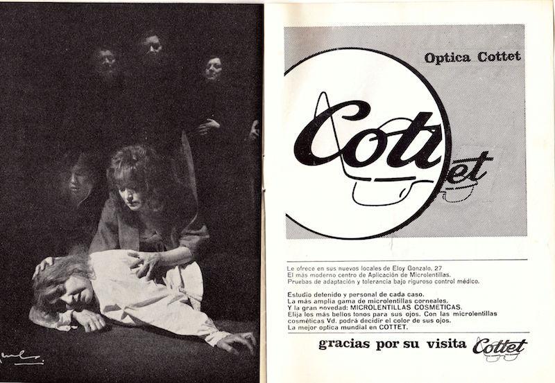 Representación de Madrid, 1965.
