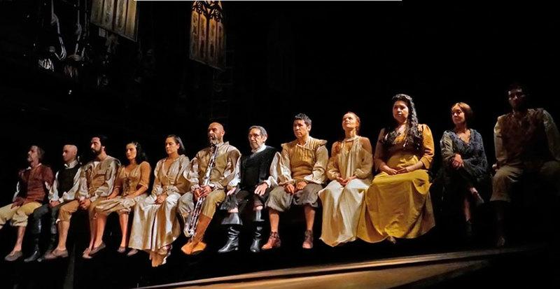 Performance of La Celestina, Compañía Nacional de Teatro, México, 2019