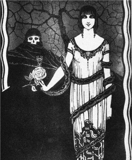 An anti-venereal campaign poster, The Dangerous Proposal (La oferta peligrosa) (1927)