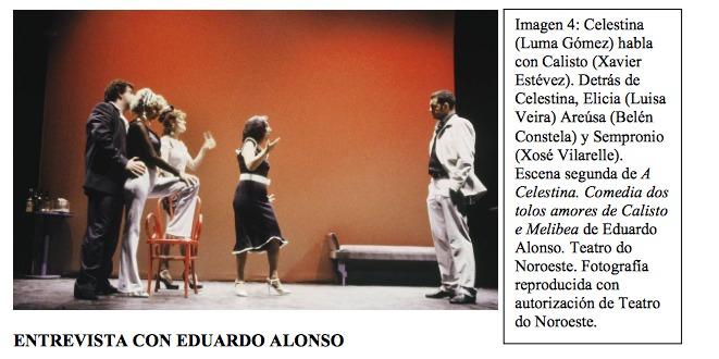 Representación del Salón Teatro de Santiago de Compostela, La Coruña, 2000
