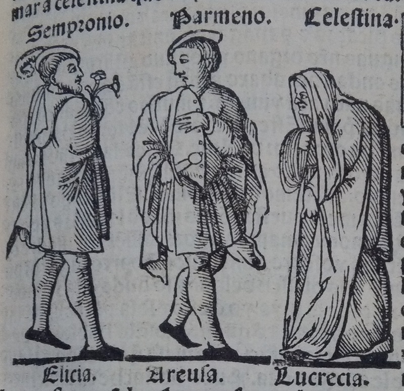 Image of act 9 of the edition of Lisbon (1540)