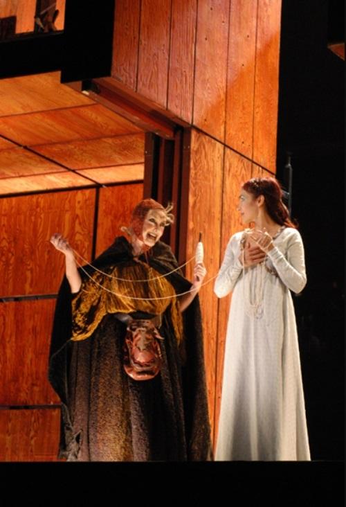 Representation La Celestina, in Teatro Español, Madrid, by Lepage (2004)