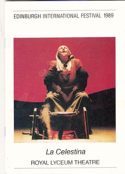 Representación del Edinburgh International Festival, 1989.