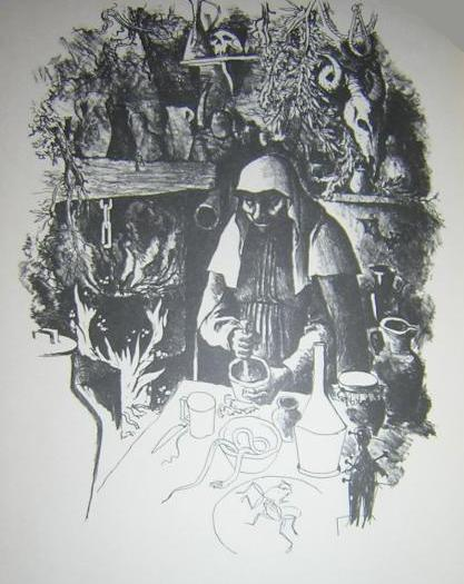 First illustration from the Madrid edition (1974)