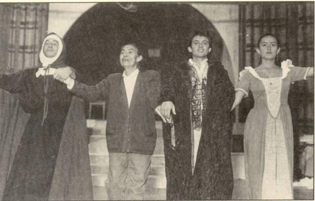 Representación del Teatro San Carlos, Cali, 1993