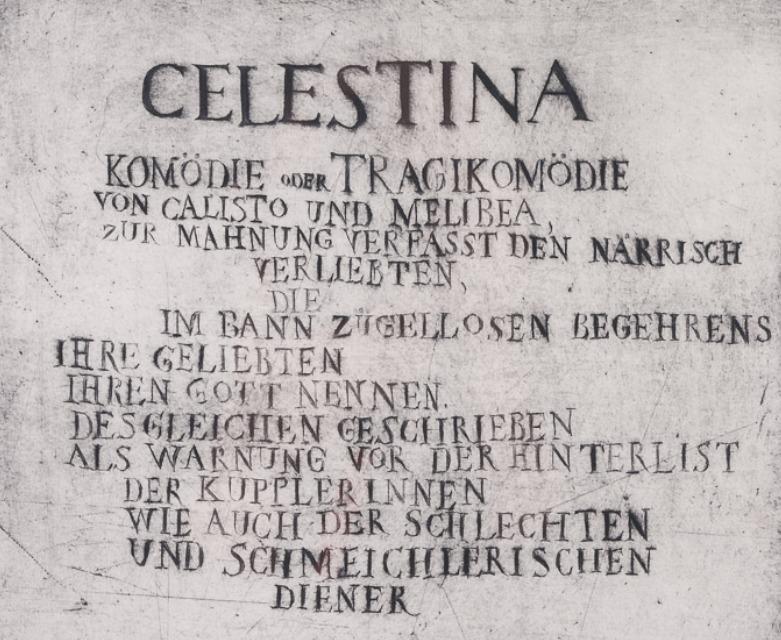 Illustration for La Celestina, by Quevedo (1967)
