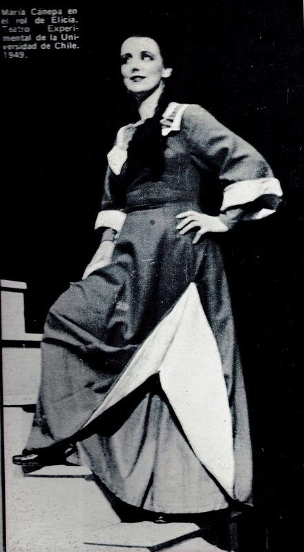 Representación del Teatro Municipal, Santiago de Chile, 1949