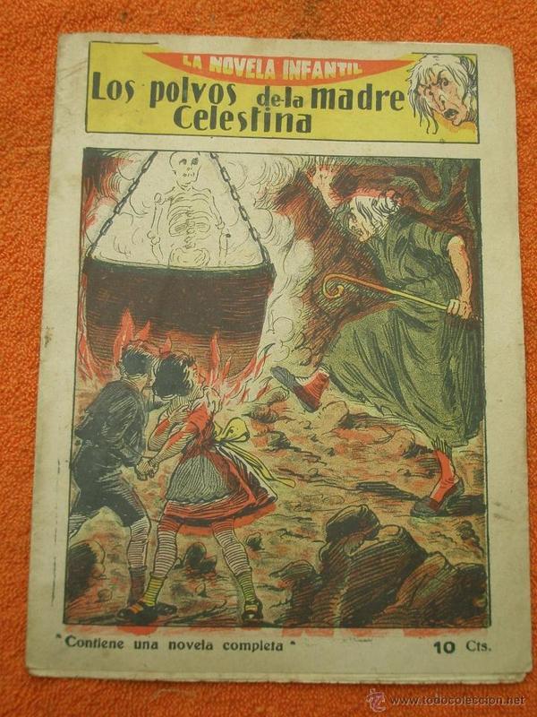 Comic Mother Celestina's Powders (Los polvos de la madre Celestina) (c. 1920)