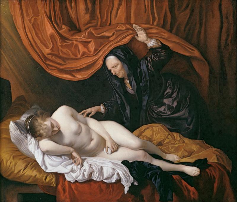 Danaë, by Van Loo (1655).
