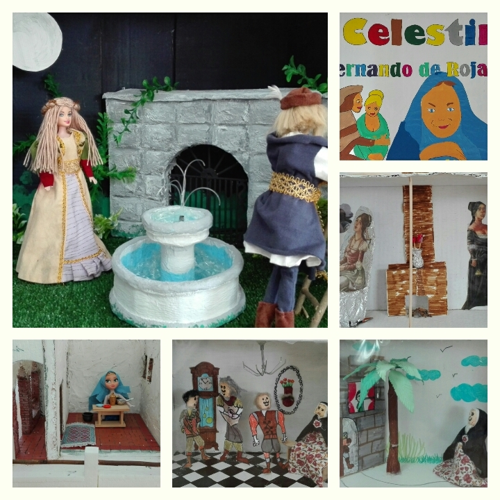 Dioramas de la Celestina, Instituto Enseñanza Secundaria Guadalapena, (2017)