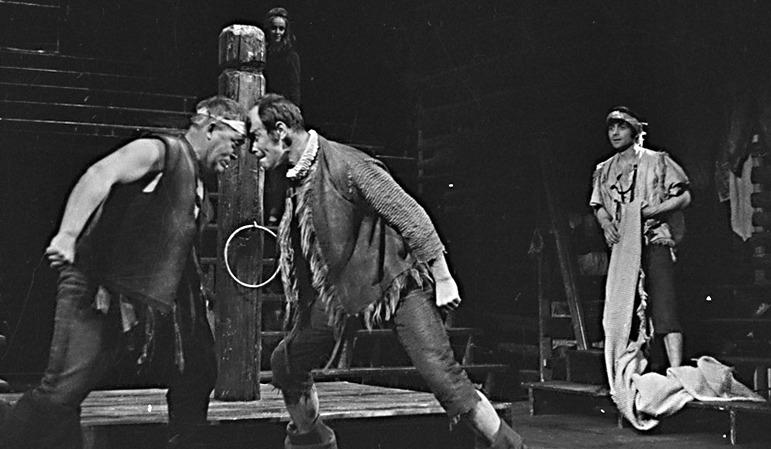 Representación del Teatro SKNeumanna de Praga, de Lohniský (1970)
